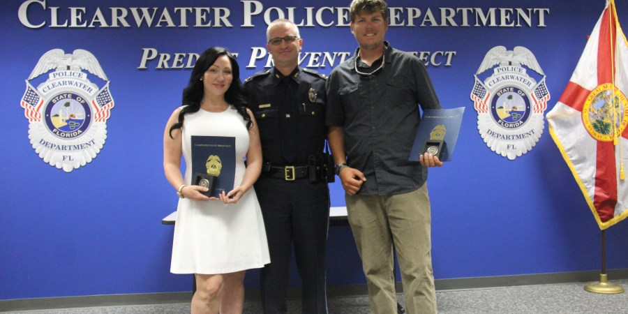 Clearwater Police | Samaritan Award | Tampa Bay News