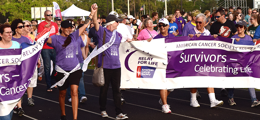 Survivors Lap | Central Pinellas Relay for Life | Cancer