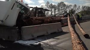 Log Truck | Florida Highway Patrol | Crash