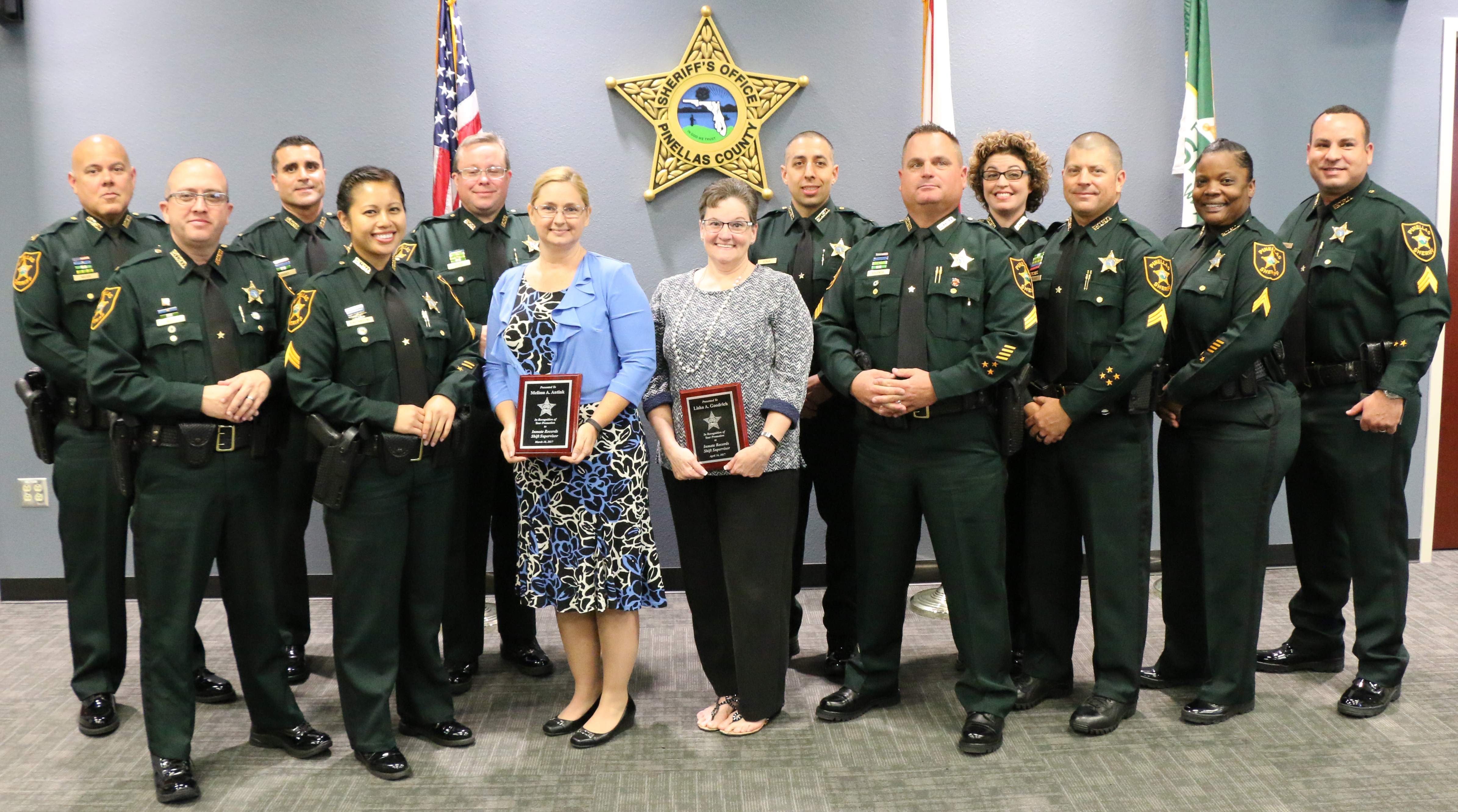Pinellas Sheriff Swears in 20, Promotes 13 | Tampa Bay Reporter