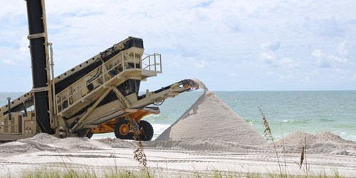Beach Renourishment | Pinellas County | Beaches