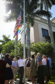 Kriseman Raises Rainbow Flag over St. Pete City Hall