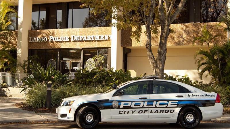 Largo Police Car   Largo Police   Public Safety