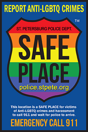 Need Help? Find a 'Safe Place' in St  Pete | Tampa Bay Reporter