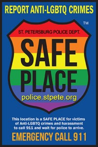 St Pete Safe Place | St Petersburg Police | Hate Crimes
