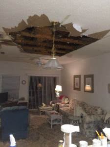 Sun City Ceiling | Hillsborough Fire Rescue | Aston Gardens
