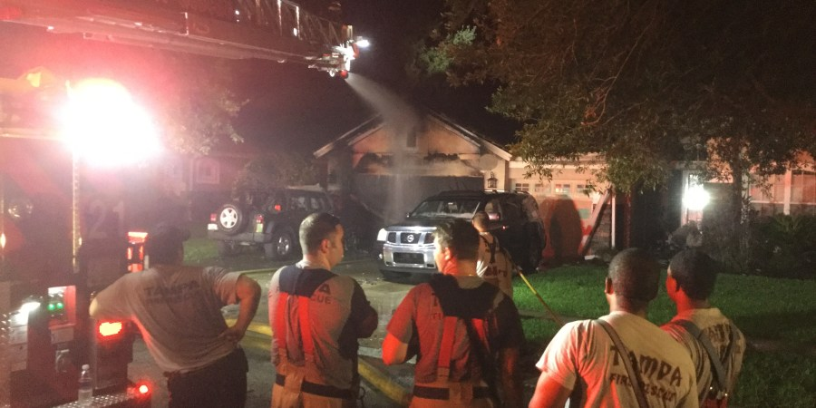 Tampa House Fire | Tampa Fire Rescue | House Fire