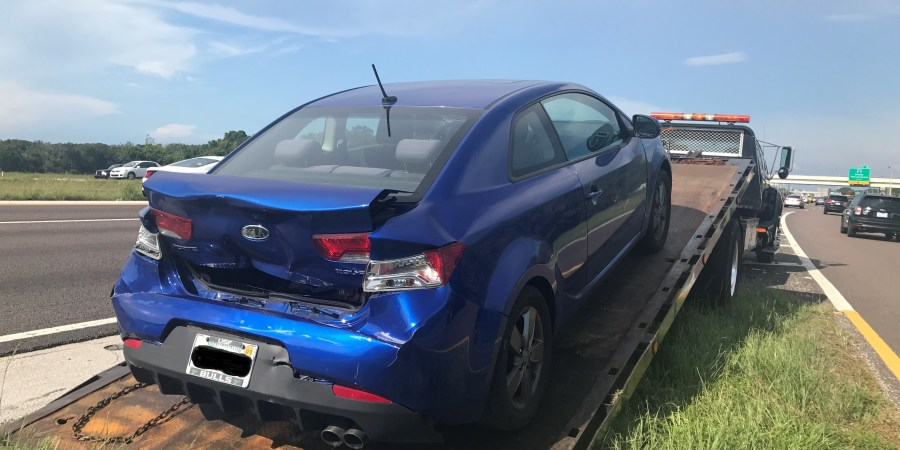 Hit and Run Crash | Florida Highway Patrol | Hit and Run Driver