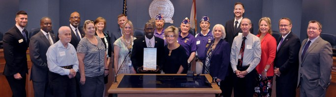 Pinellas County Commission | Purple Heart County | Veterans
