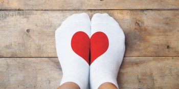 Socks | Heart | Sock Drive