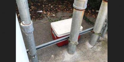 Cooler | Pinellas Park Police | Wawa