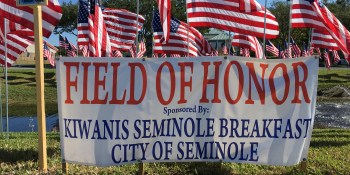 Field of Honor | Kiwanis Breakfast Club of Seminole | Events Near Me