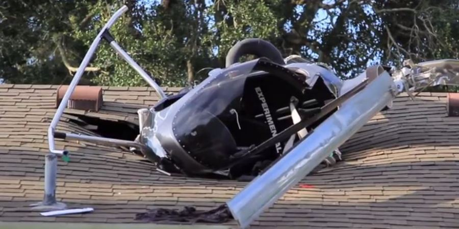 Helicopter | HIllsborough Fire Rescue | Odessa