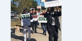 Prayer March | Payday Loans | Protesters