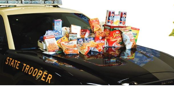 Stuff the Charger | Florida Highway Patrol | Food Drive