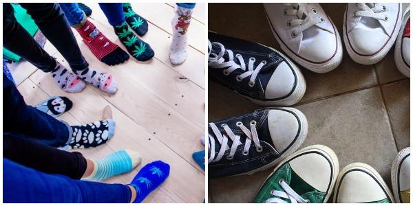 Socks | Shoes | TB Reporter