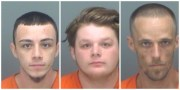 Three Accused of Burglarizing Pawn Store During Irma