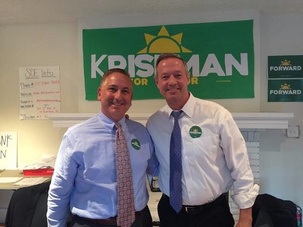 Rick Kriseman   Martin O'Malley   Politics