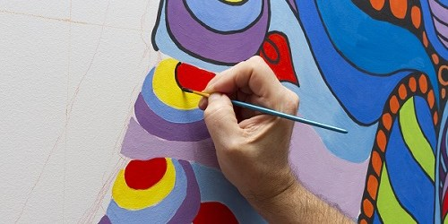 Paint   Art   Mural