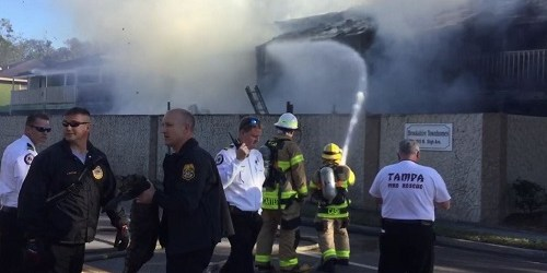 Brooshire Townhome Fire | Tampa Fire Rescue | Public Safety
