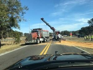 Pasco Dump Truck Crash   Florida Highway Patrol   Traffic Crash