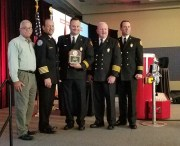 Dunedin Fire Training Chief Earns State Award