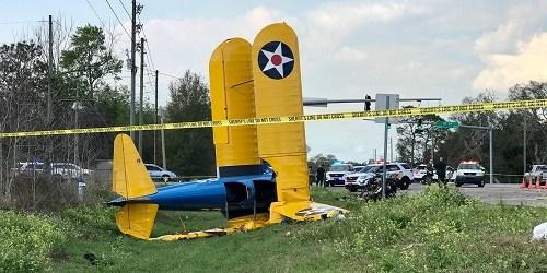 Pasco Plane Crash | Pasco Fire Rescue | Biplane