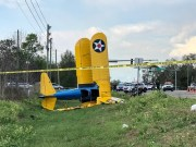 Biplane Crashes Along Pasco Roadway
