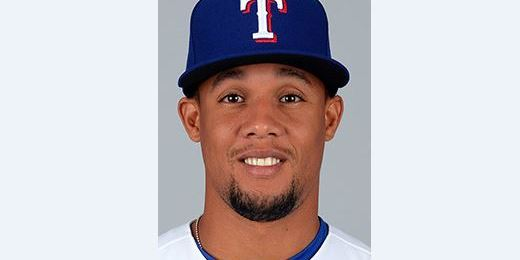 Carlos Gomez, recently let go by the Astros, trots around the bases after  homering