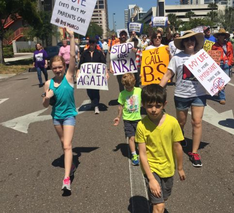 March For Our Lives Pinellas Photos 1 _ Gregg Family