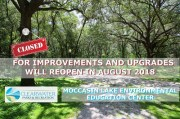Clearwater Closes Moccasin Lake for Upgrades