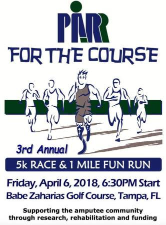PARR for the Course   Running Event   Events