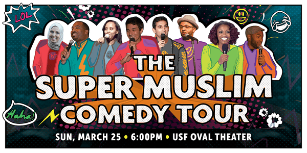 Penny Appeal USA | Super Muslim Comedy Tour | Events