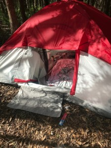 Tent in Woods | Tampa Police | Crime
