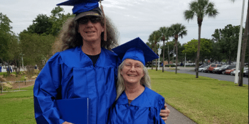 Mary and Richard Cackling   St. Petersburg College   Education