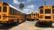 Crist Renews Call for Seat Belts on School Buses