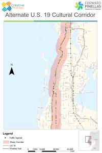 Alt US 19 Corridor | Forward Pinellas | Map