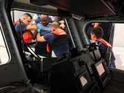 Coast Guard Airlifts Man from Cruise Ship in Tampa Bay