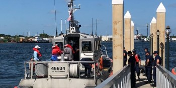 Coast Guard | Capsized Boat | Rescue
