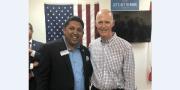 Patel Praises Scott on Proposed Private Rail