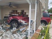 Driver Cited After Crashing into Pasco Home
