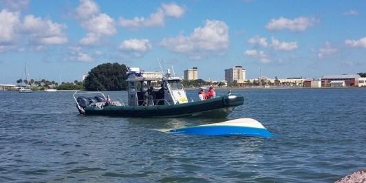 Sunk Boat | U.S. Coast Guard | John's Pass