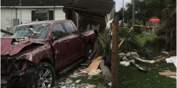 SP Truck into House   Traffic Crash   Crash