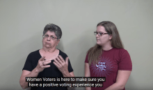 Deaf Vote | League of Women Voters of the St. Petersburg Area | Elections
