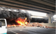 One Dead in Fiery Crash at I-75 and Fowler Avenue