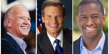 Joe Biden | Bill Nelson | Andrew Gillum