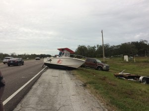 Boat Crash | Florida Highway | I-4
