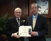 Pinellas Schools Superintendent Awarded Medal for Good Citizenship