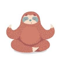 Yoga Sloth | Health | Wellness