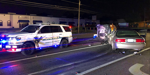 66th Street Crash | Pinellas Sheriff | Wrong-Way Crash